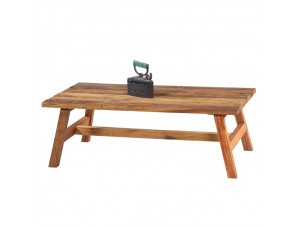 Xειροποίητος  ξύλινος πάγκος