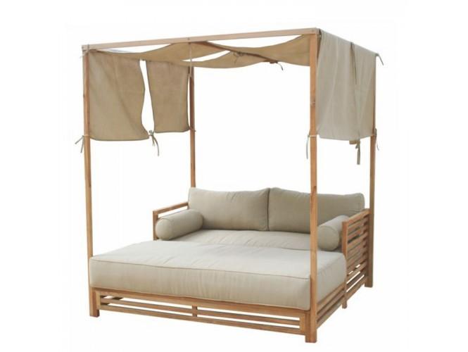 Επαγγελματικός καναπές-κρεβάτι με σκέπαστρο