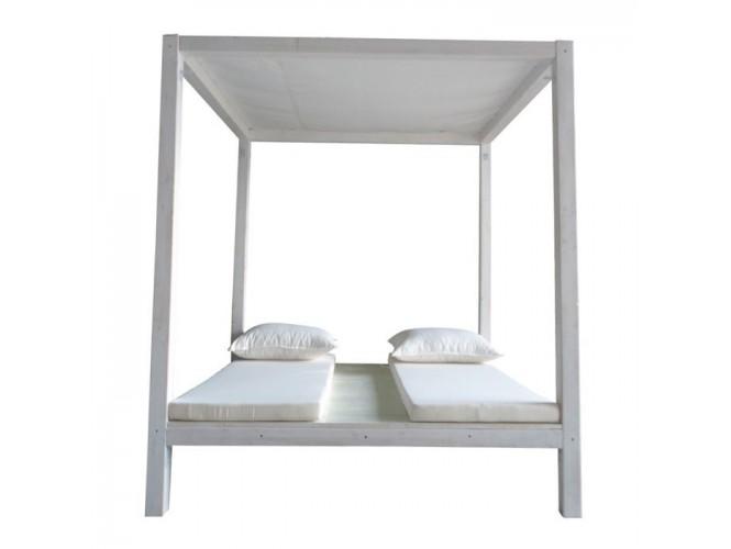 Gazzebo με διπλό κρεβάτι