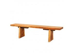 Xειροποίητος ξύλινος πάγκος Suar