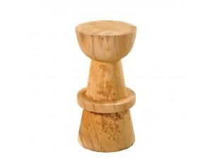 Σκαμπό bar από ξύλο Suar