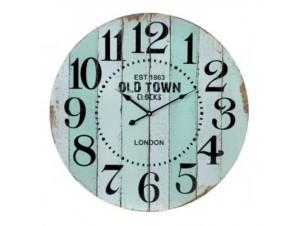 Ρολόι τοίχου ξύλινο 60 εκ.