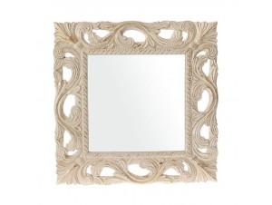 Καθρέφτης σκαλιστός σε ξύλο 60 x 60 εκ.