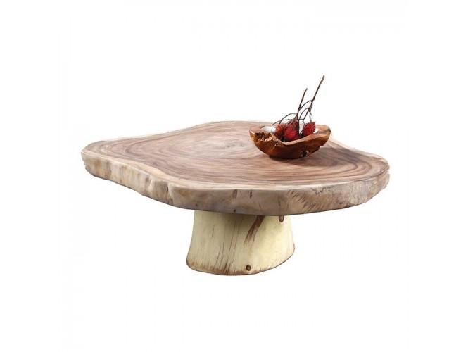 Τραπέζι χαμηλό χειροποίητο κορμός