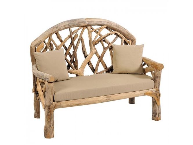 Χειροποίητος καναπές κήπου