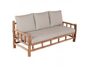 SAIGON Καναπές ξύλινος κήπου
