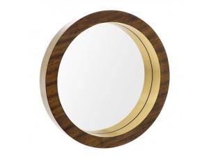 Καθρέφτης ξύλινος καρυδιά