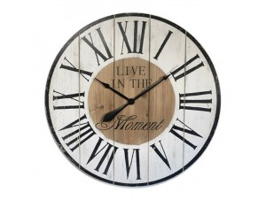 Ξύλινο επιτοίχιο Ρολόι