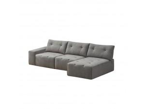 Infinity Καναπές Μικρή Γωνία Γκρι S-17