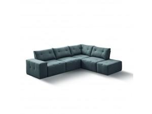 Infinity Καναπές Μεγάλη Γωνία Γκρι S-17