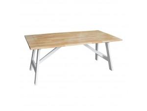 Newport τραπέζι φυσικό λευκό