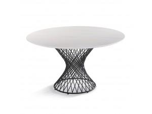 Carrara Τραπέζι Λευκό