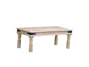 La Mer Coffee Table Λευκό Antique