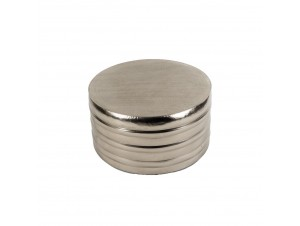 Solid Coffee Table Fume Silver