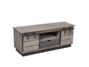 Seaside Tv Stand Γκρι