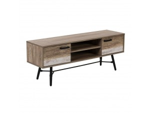 Isola Tv Stand 2Πόρτες Forest White Washed