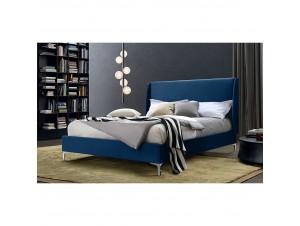 Italy κρεβάτι (Για στρώμα 160X200Cm) Μπλε σκούρο