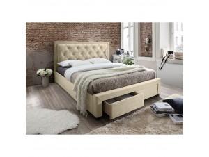 Noble κρεβάτι (Για στρώμα 160X200Cm) Mushroom