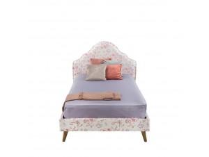 Cinderella κρεβάτι (Για στρώμα 120X200Cm) Floral