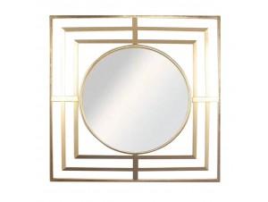 Glamour καθρέπτης χρυσό