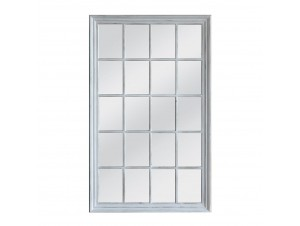 Window Καθρέπτης Λευκό Antique