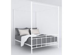 Nefeli κρεβάτι (Για στρώμα 160X200Cm) λευκό