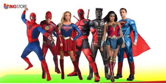 Στολές Super Ήρωες