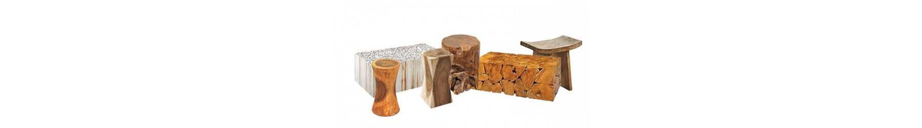 Σκαμπό σε πολλά σχέδια και υλικά. Φυσικός κορμός και κατασκευές μοναδικές. Προτάσεις υψηλής αισθητικής
