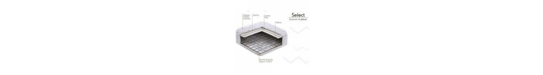 SELECT Στρώματα με ανατομικό και ορθοπεδικό σχεδιασμό