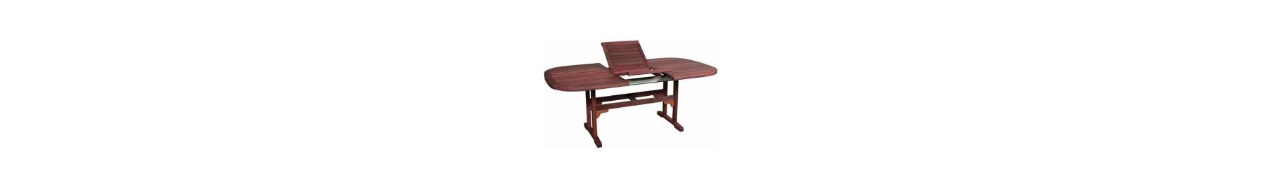 Τραπέζια κήπου ξύλινα επεκτεινόμενα, πτυσσόμενα και με σταθερή βάση
