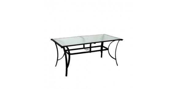 Τραπέζια κήπου Αλουμινίου - Μεταλλικά