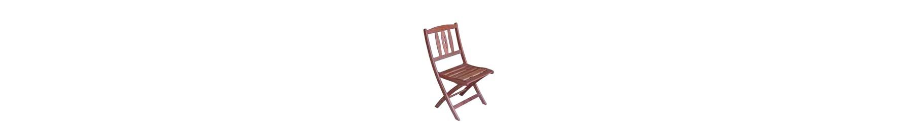 Καρέκλες για εξωτερικό χώρο. Κατάλληλα και ανθεκτικά υλικά.