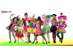 Αποκριάτικες στολές Κορίτσια Κλόουν-Αρλεκίνοι