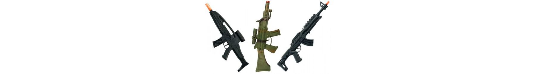 Αποκριάτικα Αυτόματα-Πολυβόλα όπλα για Στρατιώτες, Πολεμιστές, Μαχητές