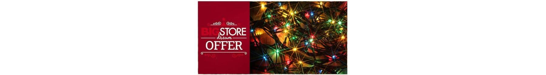 Χριστουγεννιάτικα λαμπάκια φωτάκια led Προσφορές