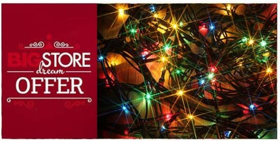 Προσφορές - Χριστουγεννιάτικα λαμπάκια - φωτάκια
