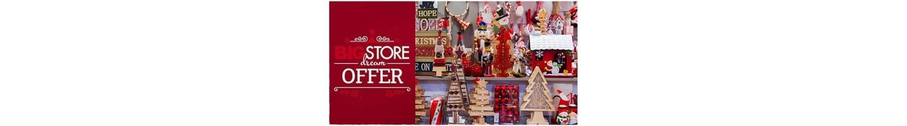 Χριστουγεννιάτικα διακοσμητικά - προσφορές