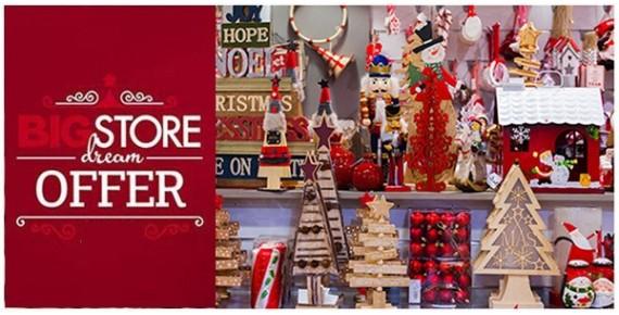 Προσφορές - Χριστουγεννιάτικα διακοσμητικά