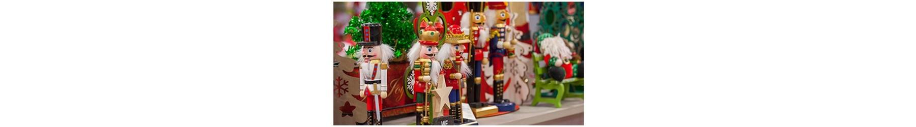Καρυοθραύστες ξύλινοι για τη Χριστουγεννιάτικη διακόσμηση