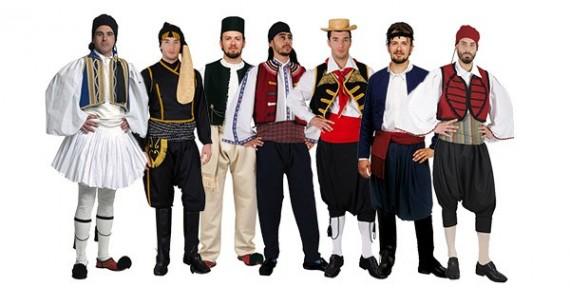 Παραδοσιακές στολές Αντρικές