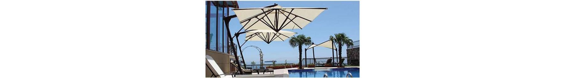 Ομπρέλες κήπου, πισίνας και παραλίας. Επαγγελματικές - οικιακής χρήσης