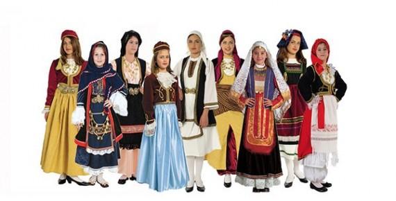 Παραδοσιακές στολές για Κορίτσι