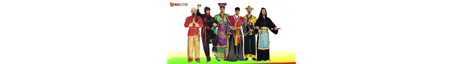 Αποκριάτικες στολές Σαμουράι, Νίντζα και Κινέζων για Άνδρες