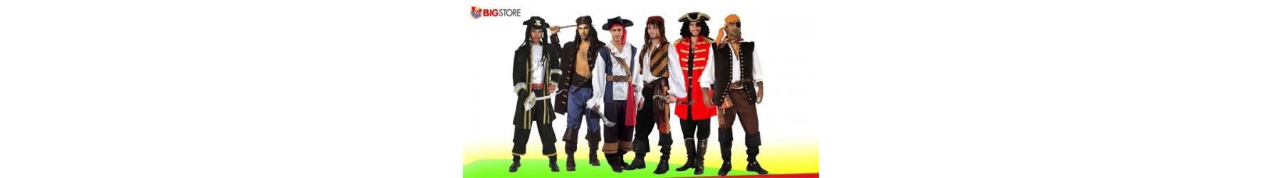 Αποκριάτικες στολές Πειρατών Κουρσάρων για Άνδρες