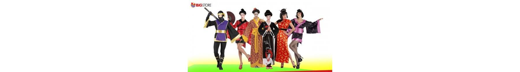 Αποκριάτικες στολές Γκέισας και Κινέζας για Γυναίκες