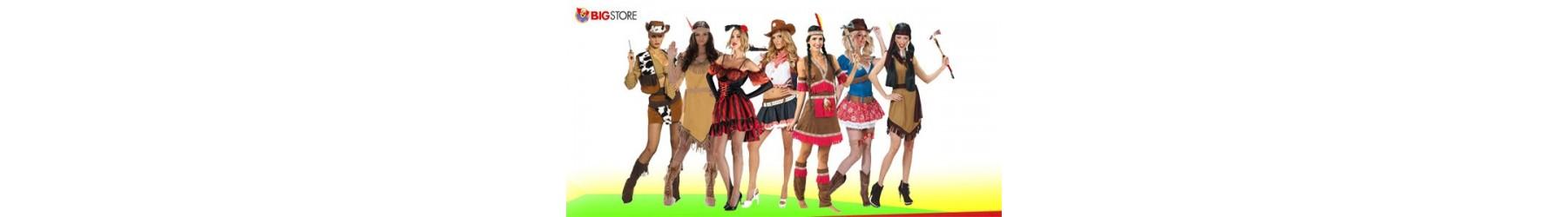Αποκριάτικες στολές της Άγριας Δύσης για Γυναίκες