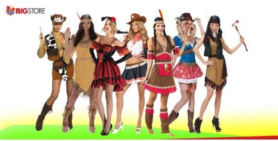 Στολές Άγρια Δύση Γυναικείες