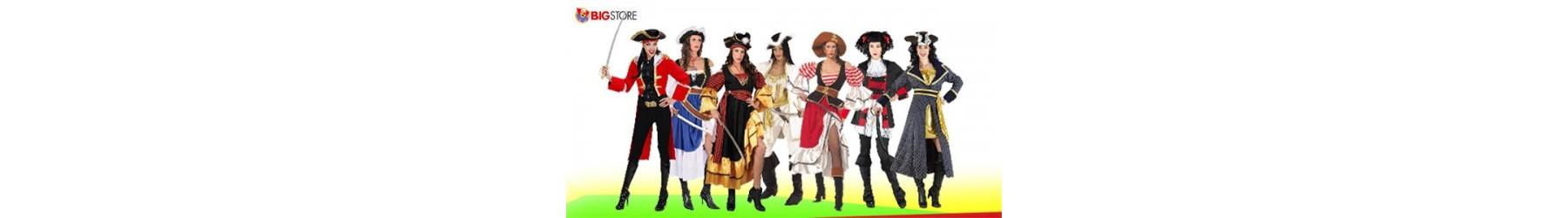 Αποκριάτικες στολές Πειρατίνες και Κουρσάρισσες για Γυναίκες