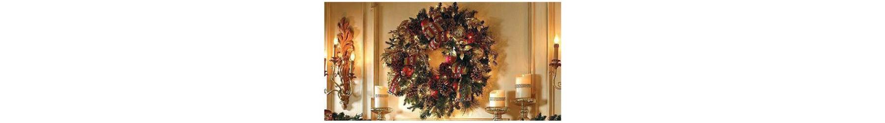 Χριστουγεννιάτικα στεφάνια για να διακοσμήσετε κάθε χώρο
