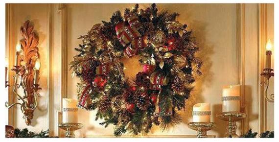 Στεφάνια Χριστουγεννιάτικα